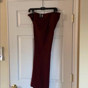 NY & Co Boot Cut Petite Dress Pant